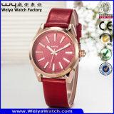 Relojes de encargo de la aleación del asunto del reloj de la marca de fábrica (WY-129A)