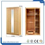 Foshan-Fabrik direkter MDF-Schlafzimmer-Möbel-Garderoben-Wandschrank hergestellt in China