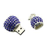O melhor USB encerra o disco na colar chave da jóia do Gourd