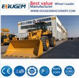 5 тонн Zl50 колесный погрузчик с самой низкой цене