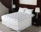 Hotel el plumón de pato o ganso blanco de colchón de plumas
