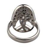 Het in het groot Gietende Roestvrij staal van de Ring van de Boom belt de Ring van Mensen