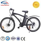 China bicicleta/bicicleta elétricas da montanha da bateria de lítio de 26 polegadas
