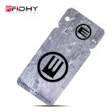 ISO14443A RFID PVC 꼬리표 13.56MHz NFC Keychain를 인쇄하는 로고