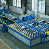 Conduit d'air de HAVC fabriquant la ligne automatique pour la fabrication carrée de tube