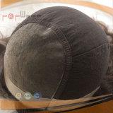 Парик человеческих волос периметра PU (PPG-l-0789)