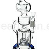 Tipo all'ingrosso tubi di acqua di fumo di vetro svizzero del narghilé del barilotto (ES-GB-051) del microscopio