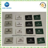 Ropa de alta calidad de tejido de la etiqueta etiqueta de tamaño (JP-CL154)
