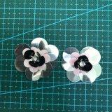 Accessorio 008 dell'indumento del fiore del Sequin