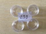 Contenitore di plastica del vaso del fronte di trucco di memoria cosmetica della crema