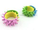 Wristband creativo del braccialetto della fascia di schiaffo del silicone