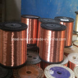 Flaches Silber-überzogener kupferner Draht 99.99% des China-Großverkauf-4mm