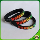 Populärer Geschenk-Regenbogen-GummiWristband
