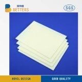 Placa plástica ondulada oca das folhas dos PP/PP com corona Treament para a impressão UV