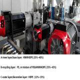 Machine de soufflage de corps creux de réservoirs de carburant pour véhicules à moteur
