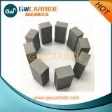 Tira do carboneto de tungstênio com vários tipos