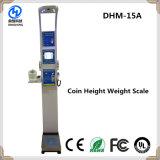 Dhm-15A 150kg 500kg Digital Haushalts-mini persönliche wiegende Schuppe münzenbetrieben