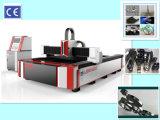 1000W CNC Máquina de corte láser de fibra de metal de corte Ss CS