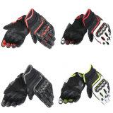 Il motocross professionale mette in mostra il motociclo dei guanti che corre i guanti di cuoio (MAG97)