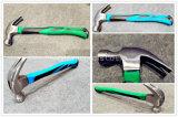 Klauwhamer van het Staal van de Fabrikant van China 8oz Gesmede/Hamer xl0005-2 van de Spijker met het Dubbele Plastic Handvat van de Kleur in Hulpmiddelen, de Hulpmiddelen van de Hand