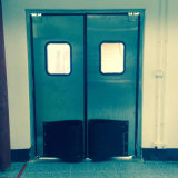 O tráfego de impacto da porta de abertura e fechamento da porta de aço inoxidável
