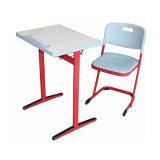 Mesa da escola do frame do metal e cadeira /MDF ou parte superior do diamante