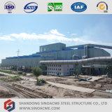 Officina siderurgica pesante prefabbricata della struttura d'acciaio
