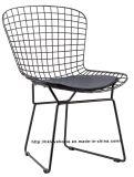 Современный ресторан садовой мебелью металлической проволоки обеденный кресло для отдыха