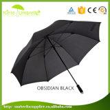 まっすぐなハンドルの強い耐久の日よけの傘が付いているビジネスゴルフ傘