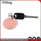 Mini rosa Wireless Bluetooth GPS Tracker para la persona