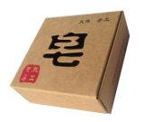 La fábrica de jabón artesanal impreso caja de embalaje de cartón con ventana