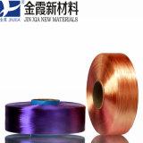Fio de poliéster tingido narcótico do filamento 1000d/384f de FDY