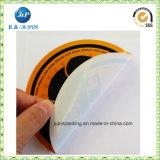 Etiqueta autoadhesiva modificada para requisitos particulares del código de barras del papel de rodillo de la etiqueta adhesiva (JP-S097)