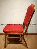 Стул трактира оптового стула банкета гостиницы красного цвета алюминиевый