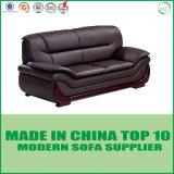 Sofa faisant le coin moderne réglé de sofa de meubles en cuir sectionnels de maison