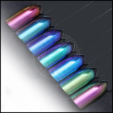 Перевод цвета хамелеона пигмент краски металлического косметический