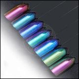 Le gel cosmétique de peinture de caméléon de changement de vitesse métallique de couleur cloue le colorant