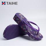 Fashion Sexy meninas alto calcanhar Chinelas Mulheres Sandálias de cunha