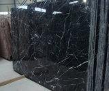 Mattonelle e marmi neri di marmo neri di Nero Marquina delle mattonelle di Marquina