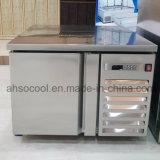 Worktop Undercounter 돌풍 냉각장치 냉장고, 카운터 스테인리스 충격 냉장고