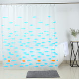 Heavy Duty PEVA Shower Curtain with Magnets