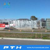 Китай производство легких стальных структуры вилла дом