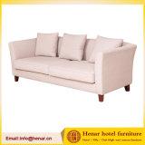 Crema moderno salón único de tejido blando sofá