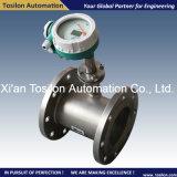 Medidor de fluxo líquido magnético indutivo com Interruptor-Alarme para a água, petróleo