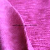 陽イオンの印刷の効果のマイクロ羊毛、ジャケットファブリック(プラム)