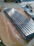 (665) mm galvanisierte gewölbte Stahlplatte 0.18*762