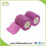 Ce / ISO / approuvée par la FDA Non-Woven Cohesive Bandage élastique