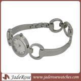Het klassieke Horloge van het Kwarts van het Roestvrij staal van het Horloge van het Kwarts Achter