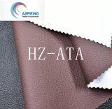 Couro 100% sintético do plutônio para sapatas materiais de couro da sapata dos sacos das sapatas únicas
