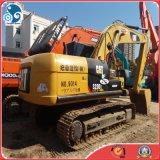 a maquinaria de construção 2012year de tamanho médio usou a máquina escavadora da pá da garra do gato da lagarta